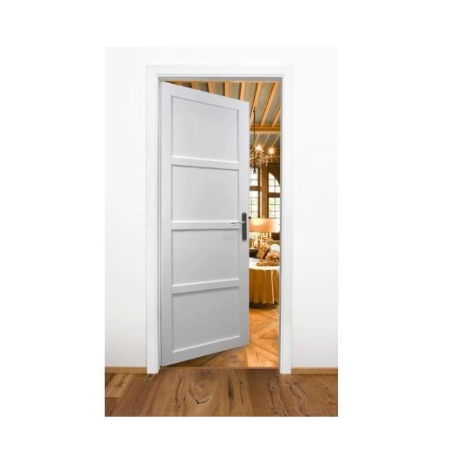 Porte coulissante 63 coulissante galandage deux vantaux for Porte 63 cm castorama