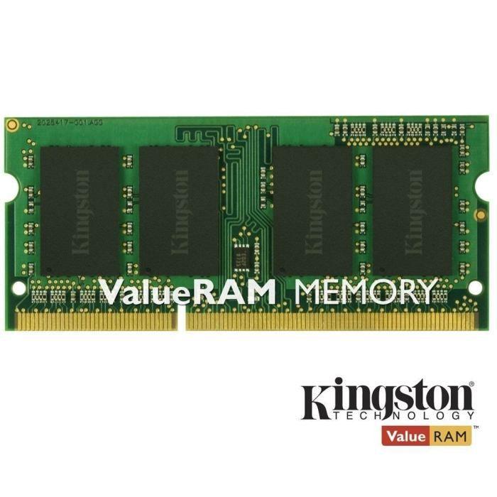 MÉMOIRE RAM Kingston 8Go DDR3 SODIMM CL11    KVR16S11/8