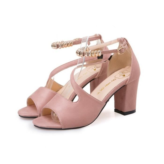Sandales Mode Chaussures Talons Femme