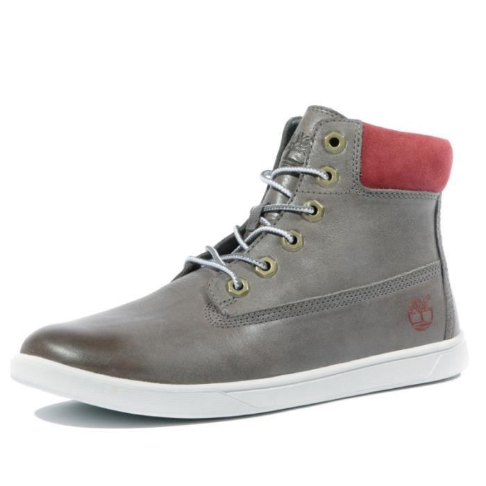 Gris Garçon Hiker Groveton Chaussures Timberland UwS7Utqx