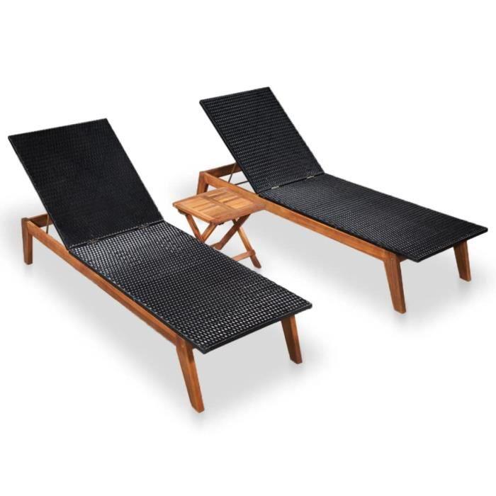 Haute qualité Luxueux Magnifique Economique Chaise longue 2 ...