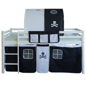 tunnel lit pirate achat vente tunnel lit pirate pas cher cdiscount. Black Bedroom Furniture Sets. Home Design Ideas