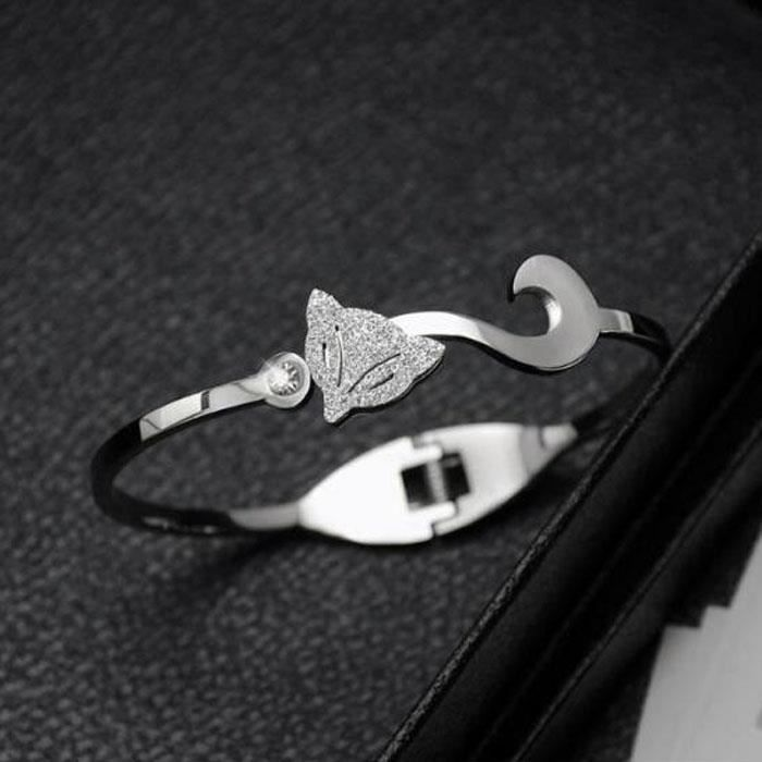 Bracelet Marque de luxe exquis mode renard Bracelet Bijoux Mode