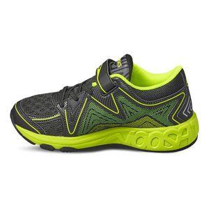 the latest e9732 5e81b ... CHAUSSURES DE RUNNING Chaussures Asics GEL-Noosa PS noir jaune enfant  ...