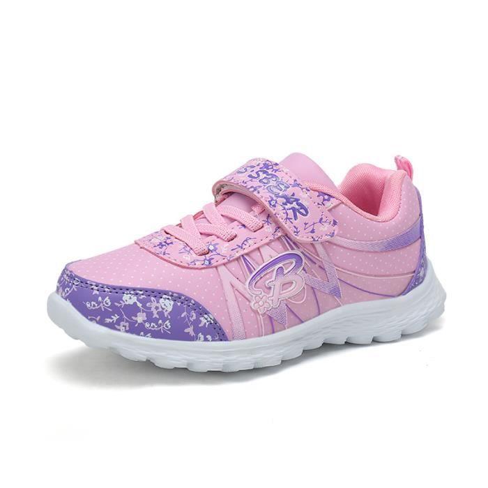 Chaussure de sport à ressort de nouvelles chaussures de sport estival fille des filles de doux enfants chaussures de sport de la