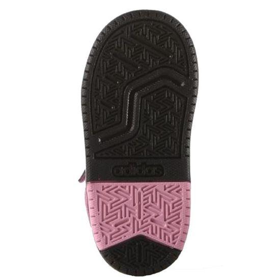 ADIDAS NEO Baskets BB9TIS Chaussures Bébé Fille Gris, noir