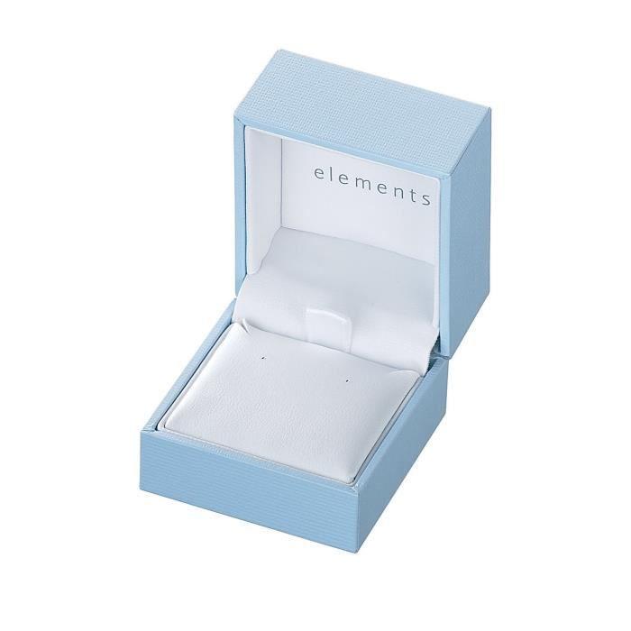 Elements - E4091w - Boucles Doreilles Pendantes Femme - Argent 1.6 Gr MUS2X