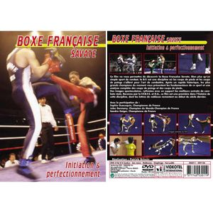 DVD DOCUMENTAIRE Boxe française savate : Initiation & perfection…