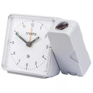 FAUTEUIL Cresta Réveil analogique avec projecteur PRA310 Bl