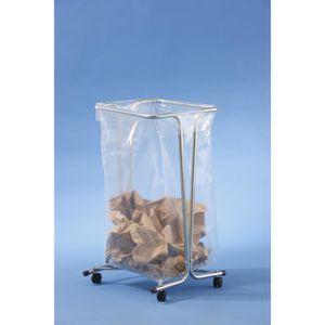 POUBELLE - CORBEILLE Support sac poubelle fixe 100-110 litres - zingué