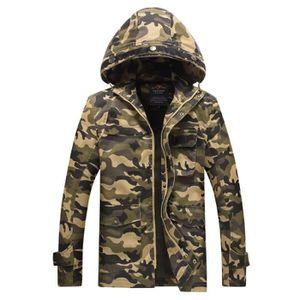 Achat Pas Vente Camouflage Cher Veste RqHw6YXx