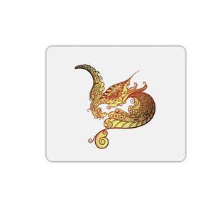 TAPIS DE SOURIS Tapis de souris rectangle oiseau arabesque