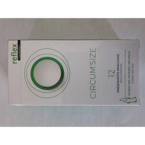 PRÉSERVATIF Reflex Circum'Size Boite de 12 préservatifs