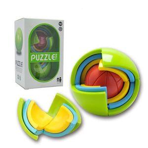 PUZZLE 8.3cm Puzzle magie 3D Balle ballon casse-tête laby