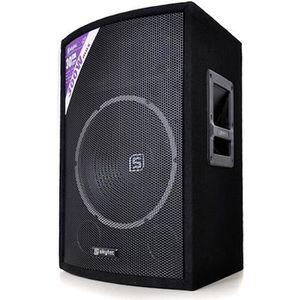 ENCEINTE ET RETOUR Skytec Haut parleur Sono Passive DJ PA caisson de