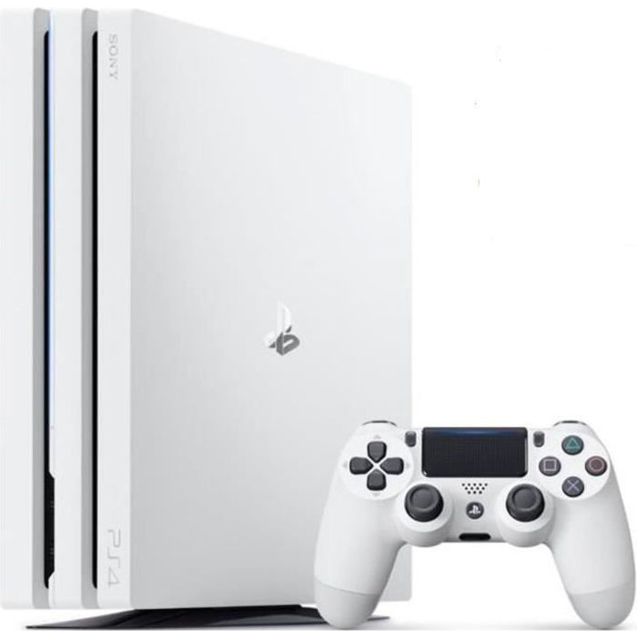 PS4 Pro 1 To Blanche