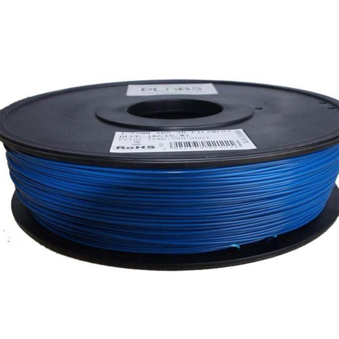 ESUN Filament pour Imprimante 3D HIPS - Bleu - 3 mm - 1kg
