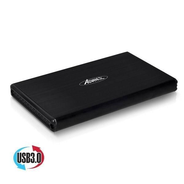 Boîtier Disque Dur externe Advance Steeldisk USB3.0 - Pour disque dur SATA  2,5 pouces 67daef57e4b1