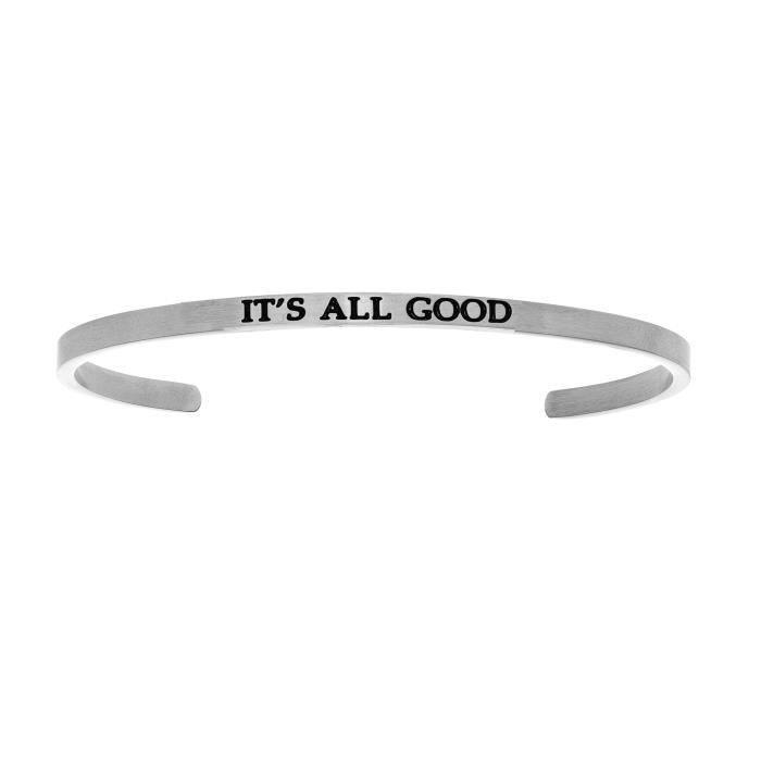 Bracelet en acier inoxydable Intuitions ITS ALL GOOD