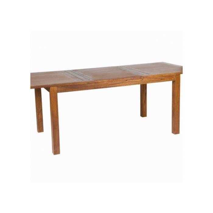 table manger seule table salle manger rallonges bois exotique col - Salle A Manger Bois Exotique