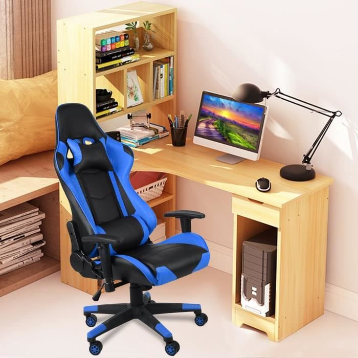 Fauteuil Gaming 180°chaise Siège Inclinable Gamer Outad® De Bureau bIyvYf7m6g