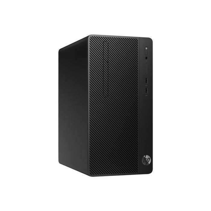 UNITÉ CENTRALE  HP 285 G3 - micro-tour - Ryzen 5 2400G 3.6 GHz - l