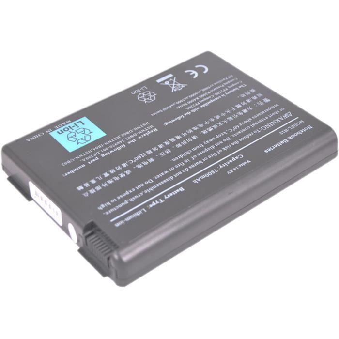 Batterie pour HP PAVILION ZD8000 - 7800mAh   14.8V   Li-ion - Prix ...
