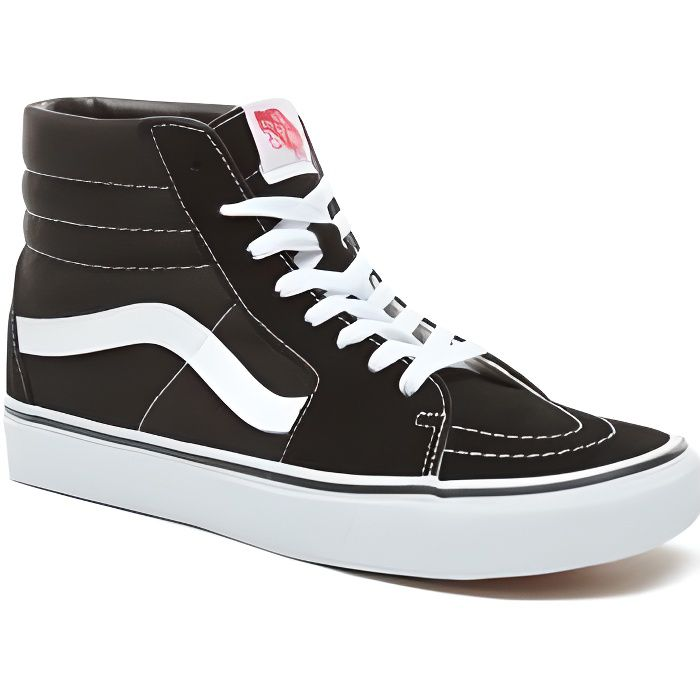 baskets vans montantes sk8 hi no noir achat vente basket cdiscount. Black Bedroom Furniture Sets. Home Design Ideas