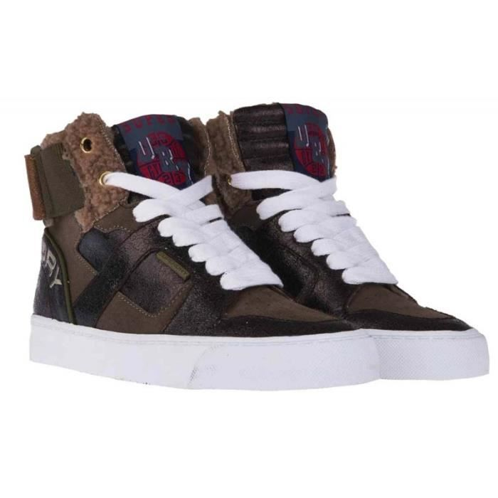 Basket Superdry Mariah High Top Sneaker Bronze