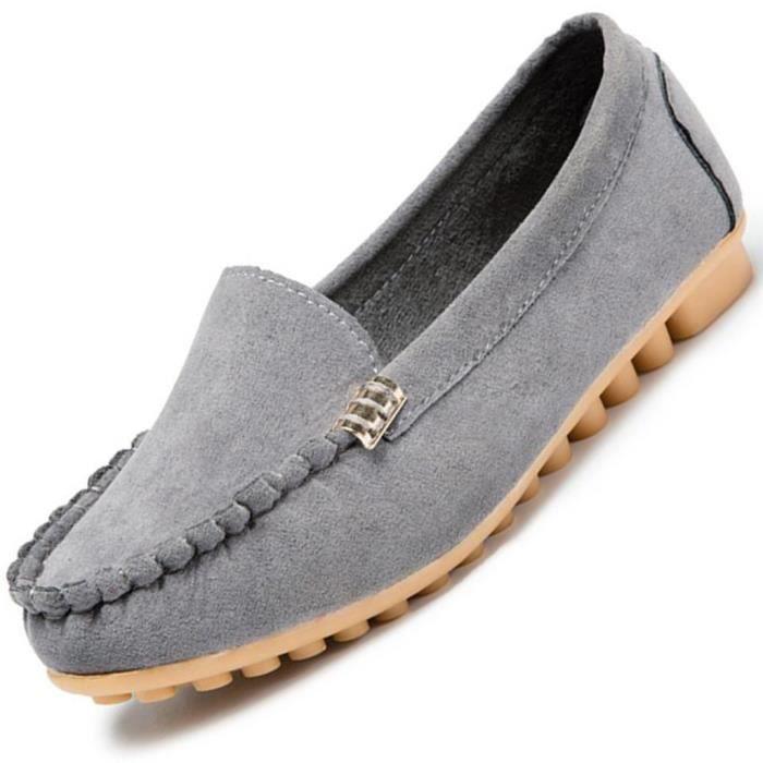 En Féminine Plates Peluche Pour Chaussure Chaussures Pois Femmes Bateau SIMPVALE Chaussure SaqfSw