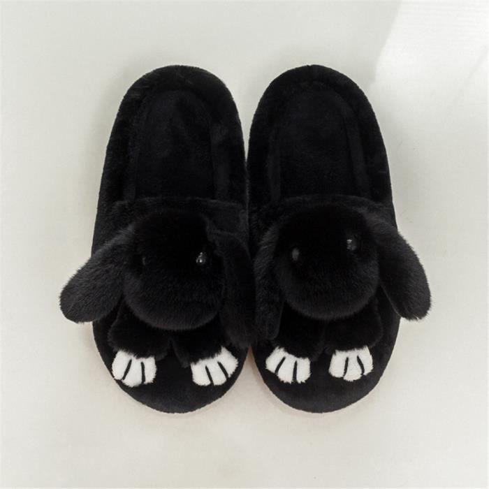 Lapins Chaussons Beau Plus De Cachemire Hiver Chaussure Coton Garde Au Chaud Nouvelle Homme Chausson Mode Durable 42-45 AFjjzJHqH