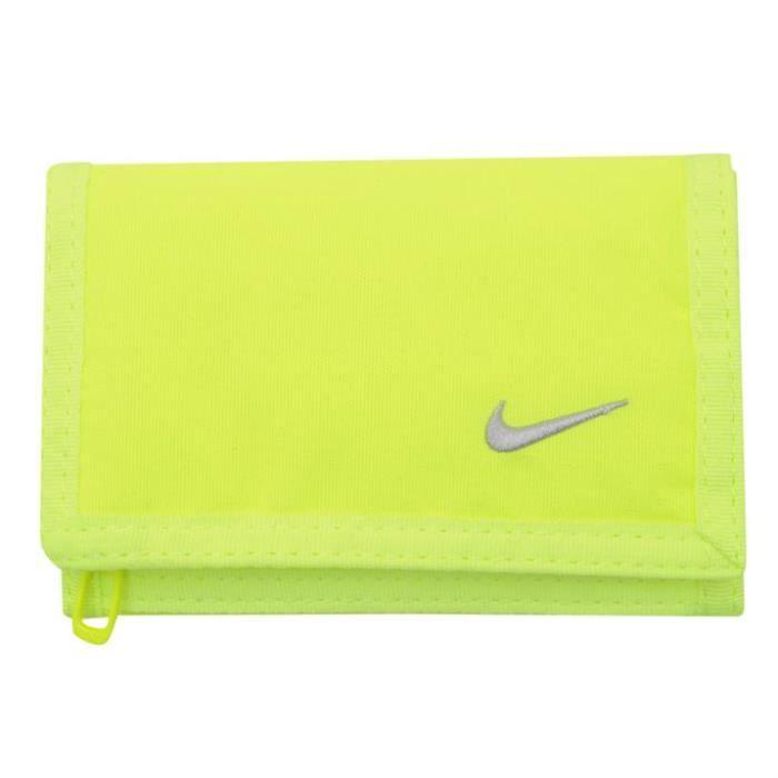 best cheap 65c28 8261a Portefeuille Nike Jaune fluo