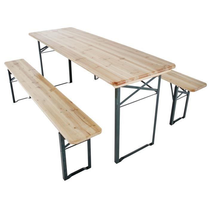 Ensemble Table Banc Pliable Achat Vente Table Et Chaises