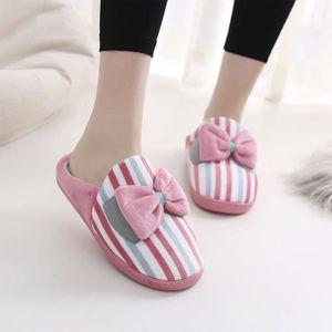 Sidneyki®Bottes d'hiver pour femmes en peluche chaussures à lacets en plein air chaud cheville bottes de neige Gris XKO743 MEDtCDocV