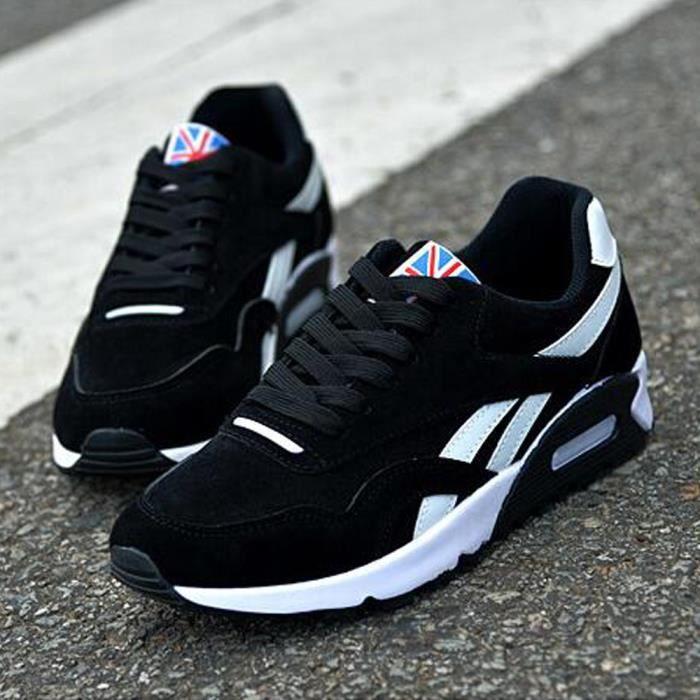 CasualChaussures de Noir Hommes Basket coussin Chaussures course Chaussure à d'air q8awEazA