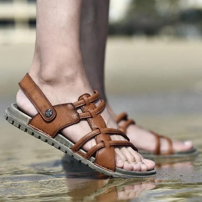 Hommes Mode De Sandales 2018 Chaussures Créatif Nouveaux Été Simple Occasionnelles La wCqCS5U