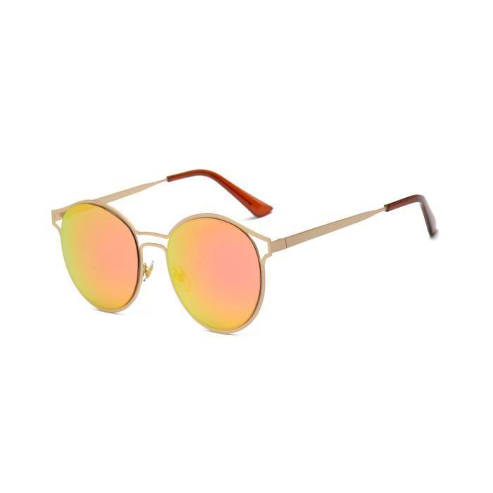 Deuxsuns®Femmes Hommes Vintage Rétro Lunettes Unisexe Mode Aviateur Miroir Lunettes de soleil@zf270