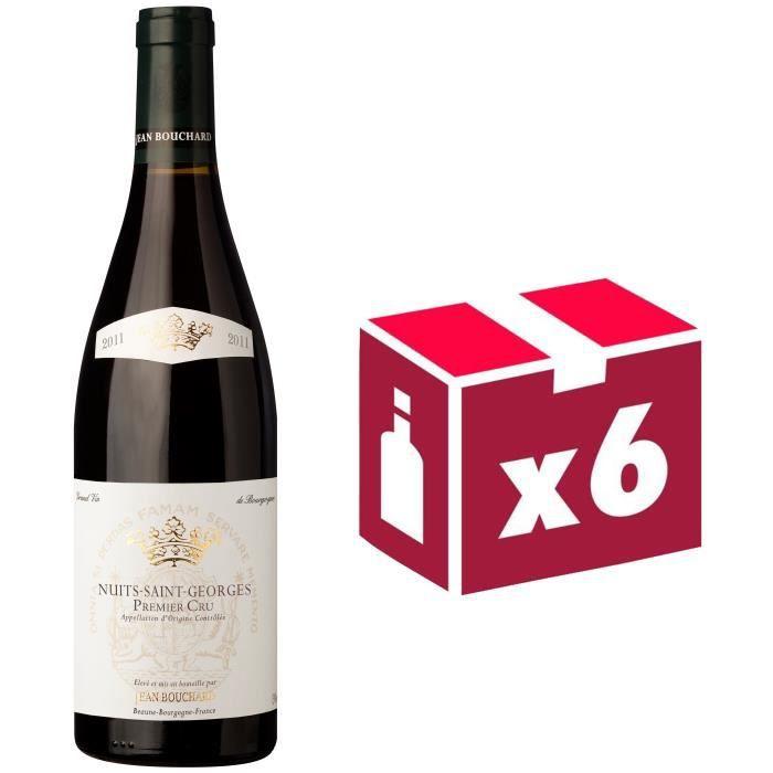 Jean Bouchard Nuits St Georges 1er Cru Grand Vin de Bourgogne 2011 - Vin Rouge