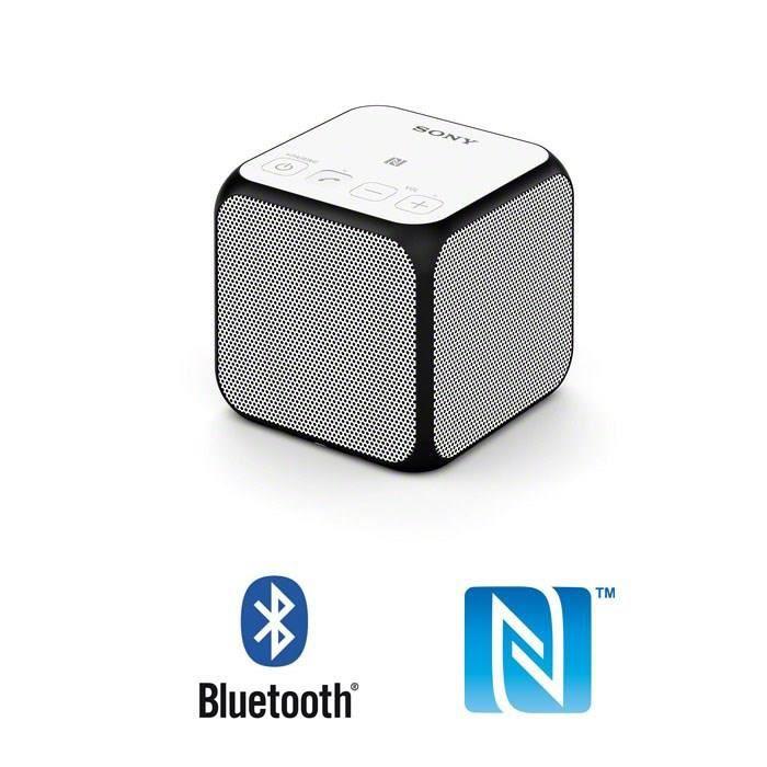 SONY SRS-X11 Enceinte Bluetooth ultra portable - Blanc