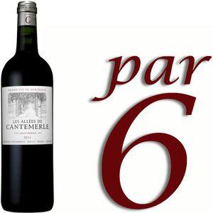 VIN ROUGE Les Allées de Cantemerle 2011 Haut-Médoc vin ro...
