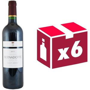 VIN ROUGE Château Bernadotte 2011 Haut-Médoc - Vin rouge de