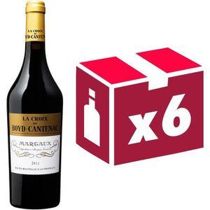 VIN ROUGE La Croix de Boyd Cantenac Margaux Second Vin 20...