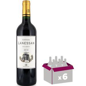 VIN ROUGE Château Lanessan Haut Médoc 2011 - Vin rouge
