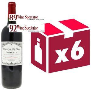 VIN ROUGE Manoir de Gay Pomerol Second vin de Château le ...