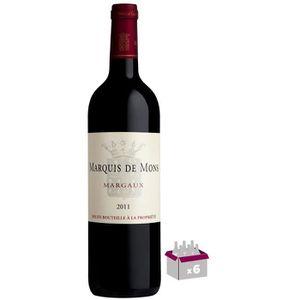 VIN ROUGE Marquis de Mons 2011 Margaux - Vin rouge de Bordea