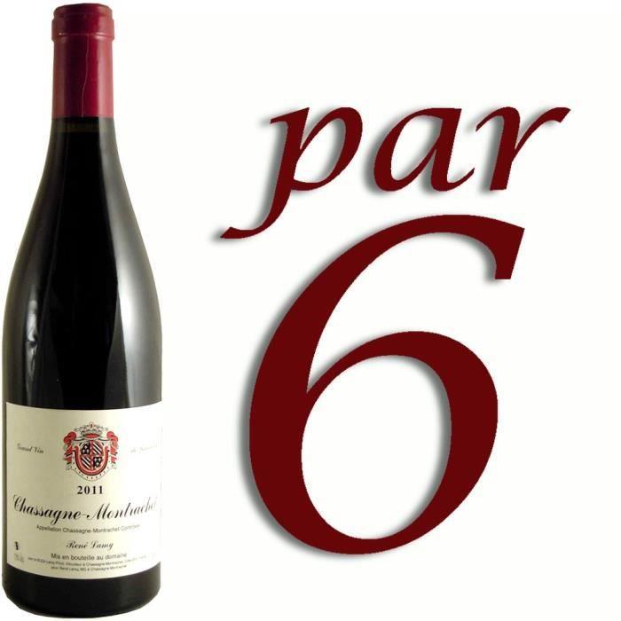 VIN ROUGE Chassagne Montrachet Domaine Lamy 2011 x6
