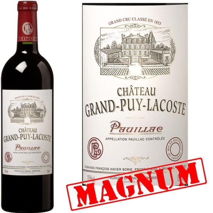 Magnum Grand Achat Lacoste Pauillac 2011 Château Rouge Vin Puy Pqrw7xfP