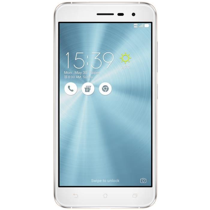 SMARTPHONE ASUS Zenfone 3 Blanc 5,2' FHD 4G 64Go