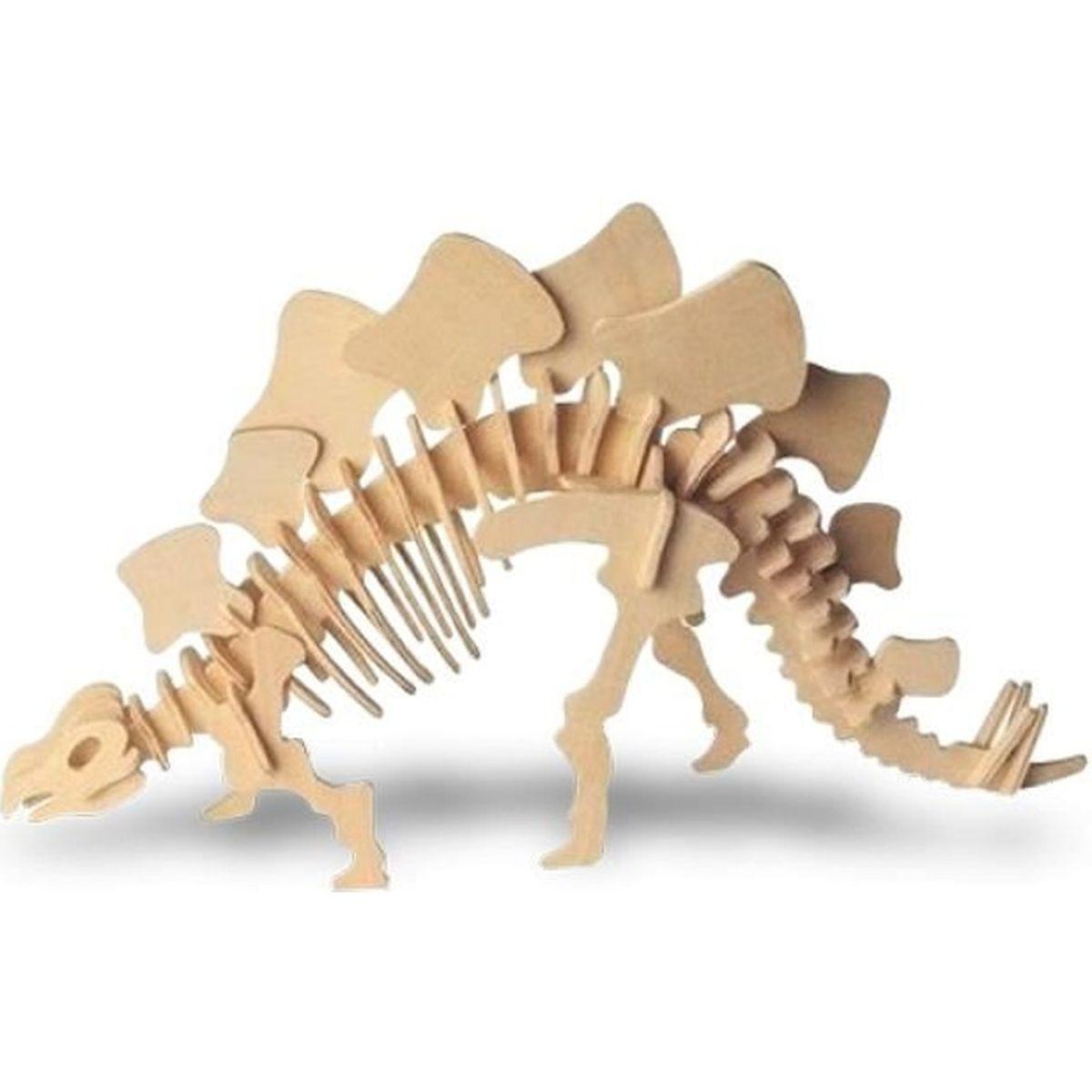 puzzle en bois squelette de dinosaure triceratops mati re bois age recommand 3 ans. Black Bedroom Furniture Sets. Home Design Ideas