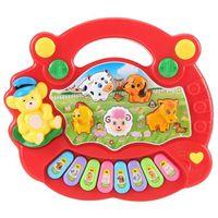 Jouet de musique pour bébé enfants Jouet de musique éducative Cadeau pour enfant - rouge
